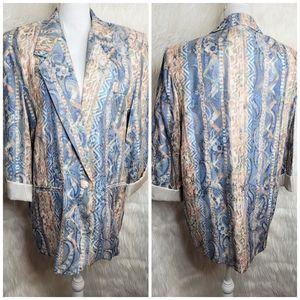 Vintage San Moire Jacket